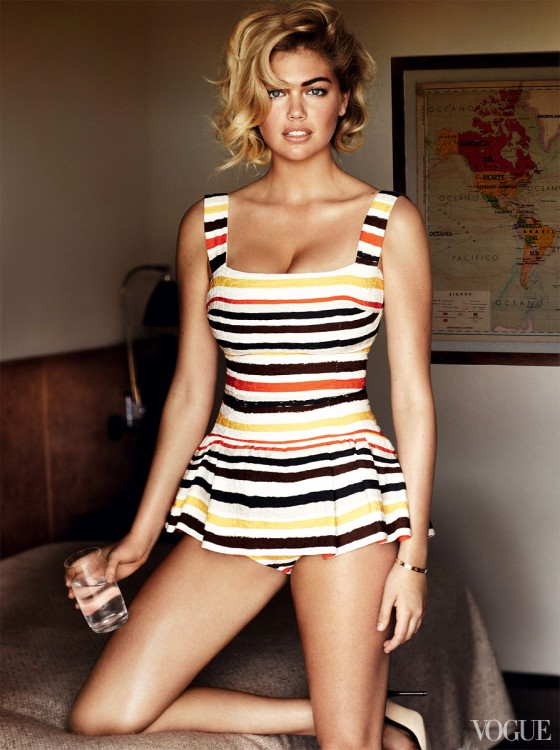 Kate Upton – Vogue Magazine 2103 -09