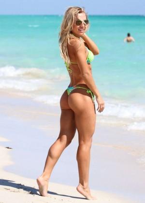 Kate Usmanova Bikini Photos: 2014 Miami -03
