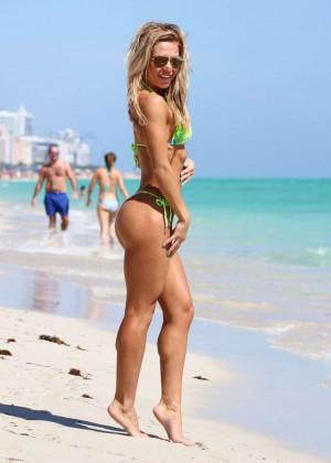 Kate Usmanova Bikini Photos: 2014 Miami -10