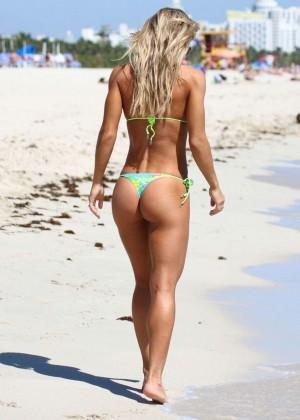 Kate Usmanova Bikini Photos: 2014 Miami -16