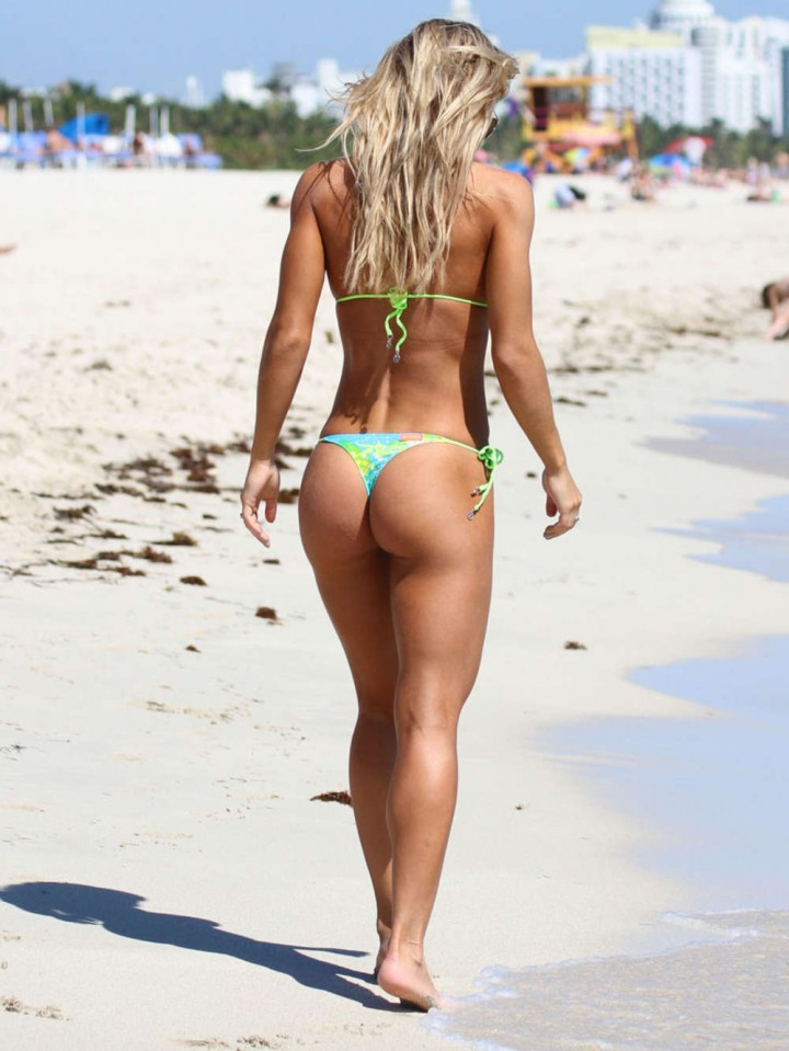 Kate Usmanova Bikini Photos: 2014 Miami -16