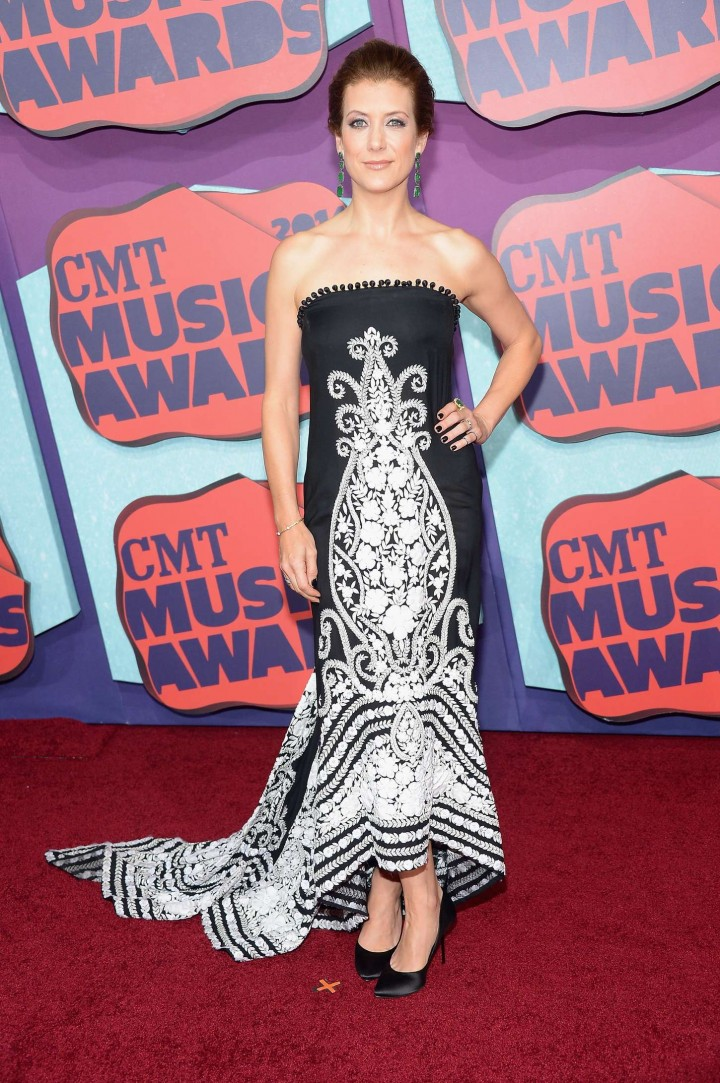 Kate Walsh: 2014 CMT Music Awards -01