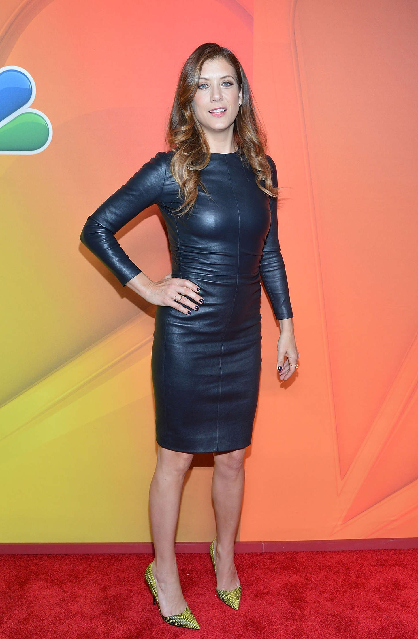 Kate Walsh In Leather Dress 03 Gotceleb