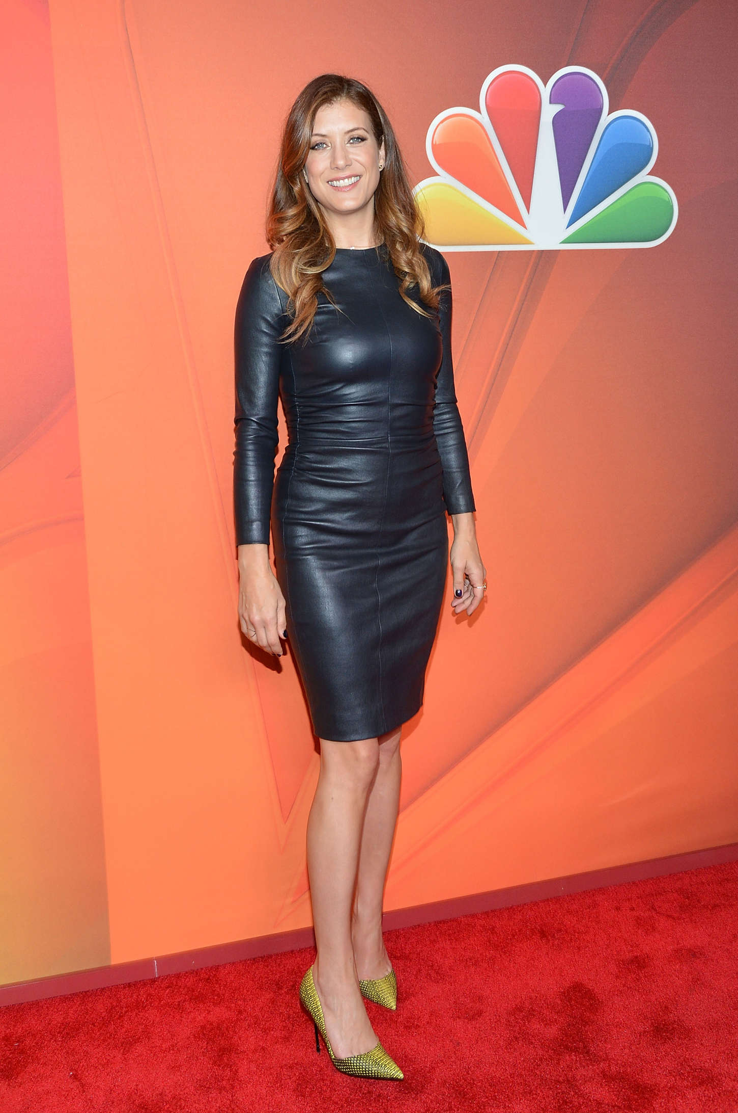 Kate Walsh In Leather Dress 06 Gotceleb