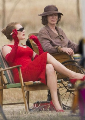 "Kate Winslet - Filming ""The Dressmaker"" set In Australia"