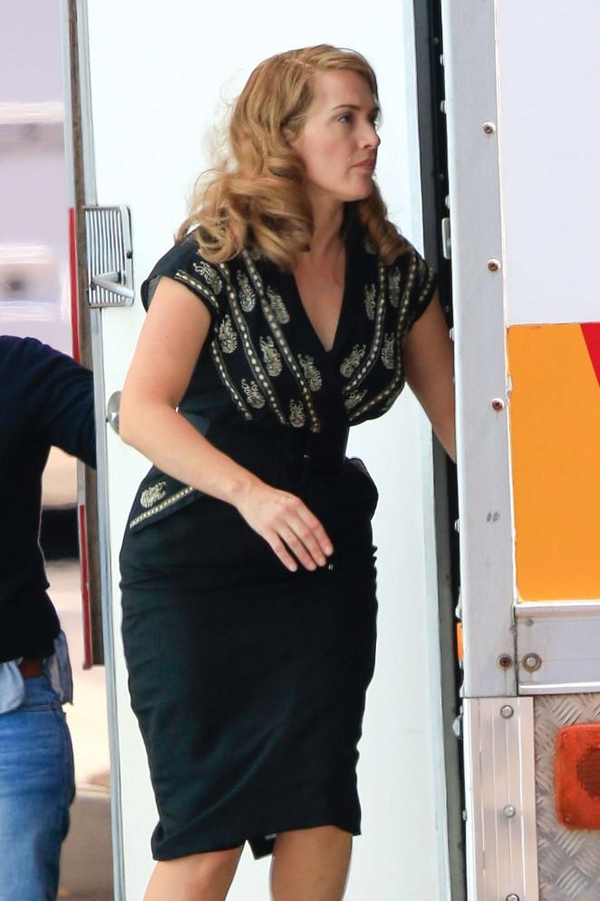 """Kate Winslet Filming """"The Dressmaker"""" set at Docklands Studios in Melbourne"""