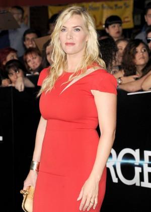 Kate Winslet: Divergent Premiere -04