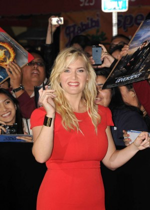 Kate Winslet: Divergent Premiere -05