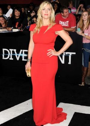 Kate Winslet: Divergent Premiere -08
