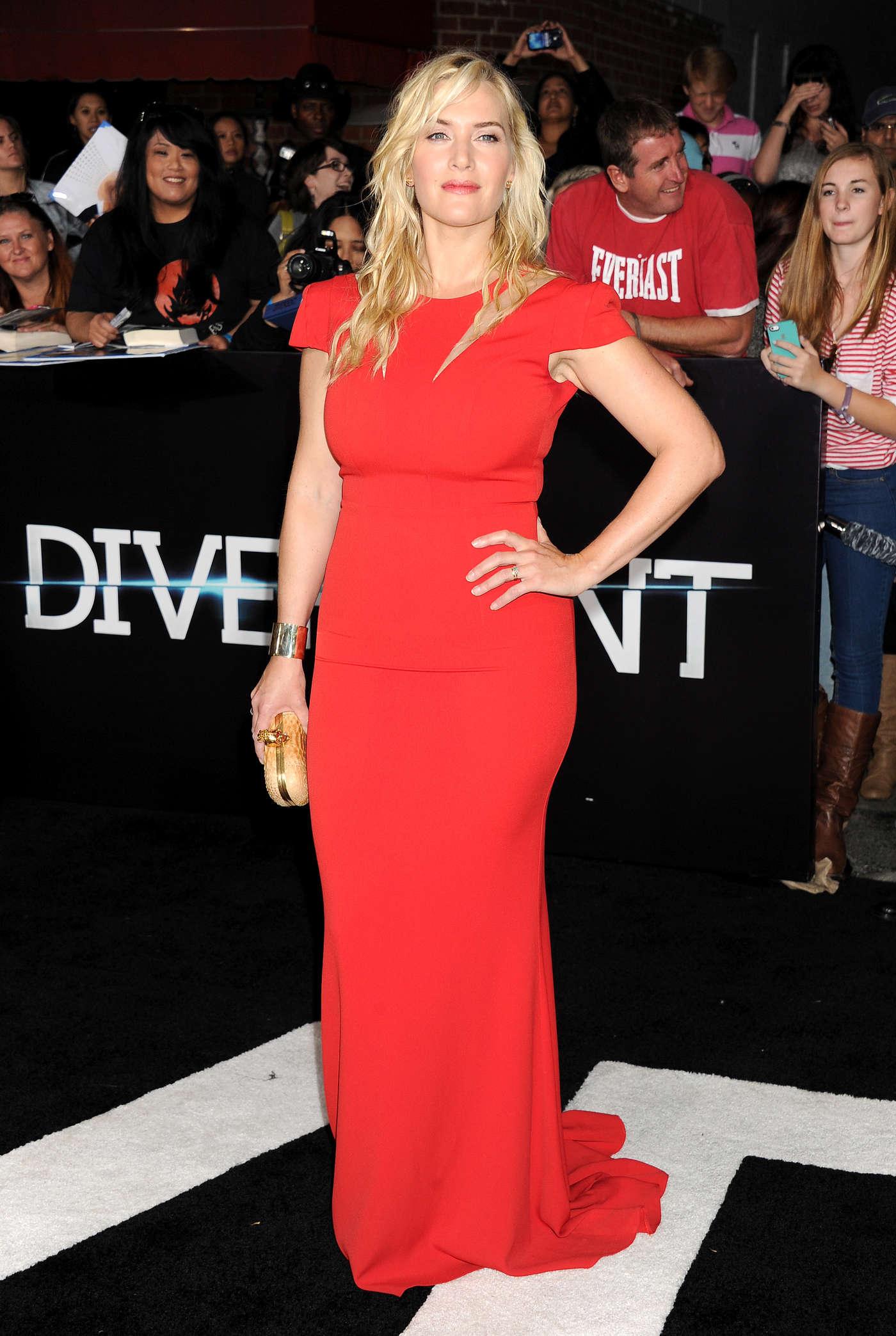 """Kate Winslet - Premiere """"Divergent"""" in LA - GotCeleb"""