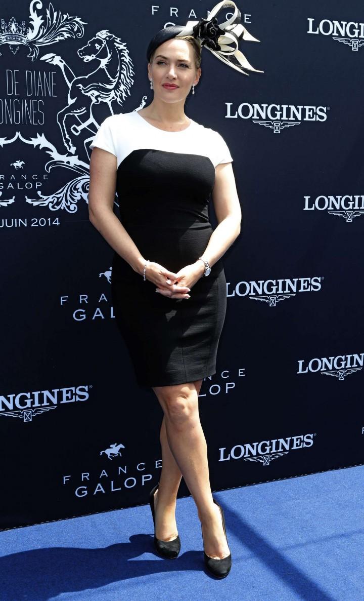 "Kate Winslet – ""Prix de Diane Longines 2014"" in France"