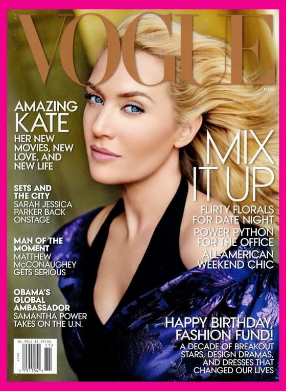 Kate Winslet – Vogue USA Cover (November 2013)