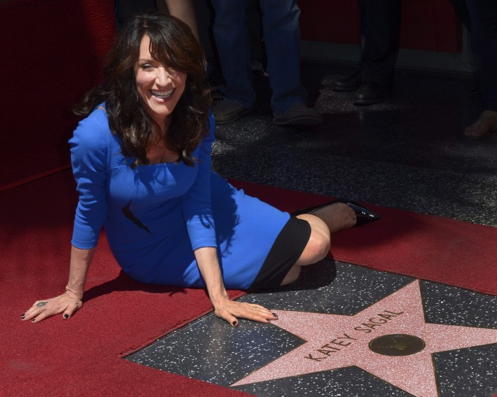 Katey Sagal: Hollywood Walk of Fame Ceremony -07