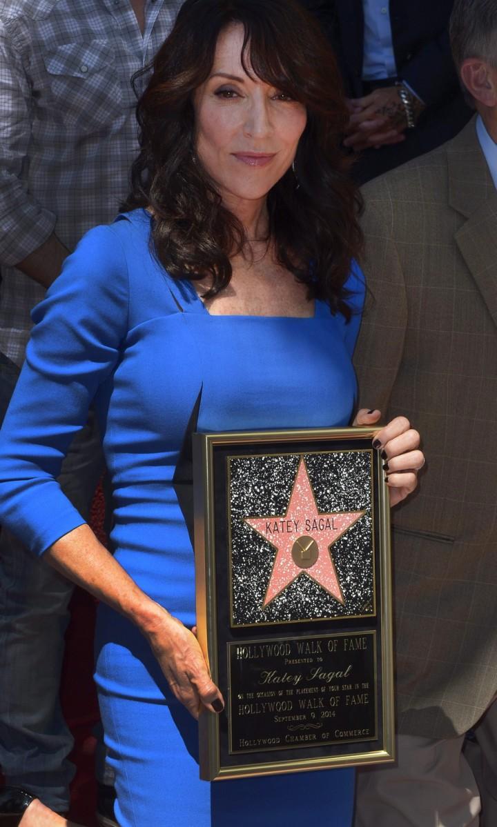 Katey Sagal: Hollywood Walk of Fame Ceremony -13