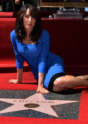 Katey Sagal - Hollywood Walk of Fame Ceremony
