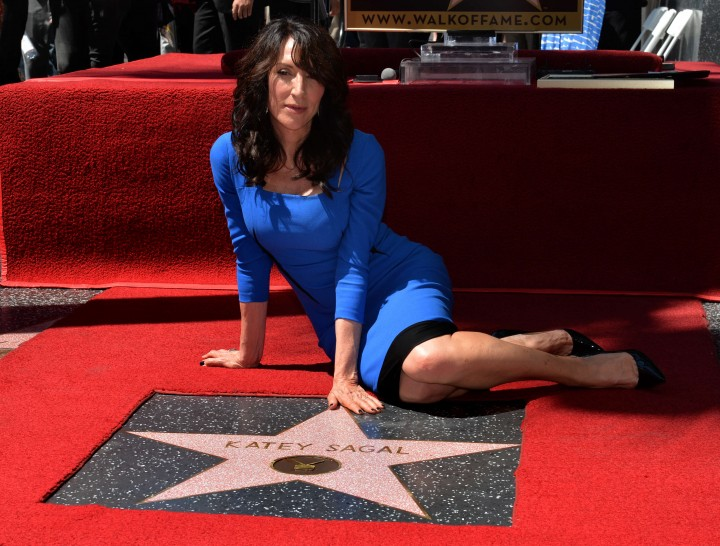 Katey Sagal - Hollywood Walk of Fame Ceremony
