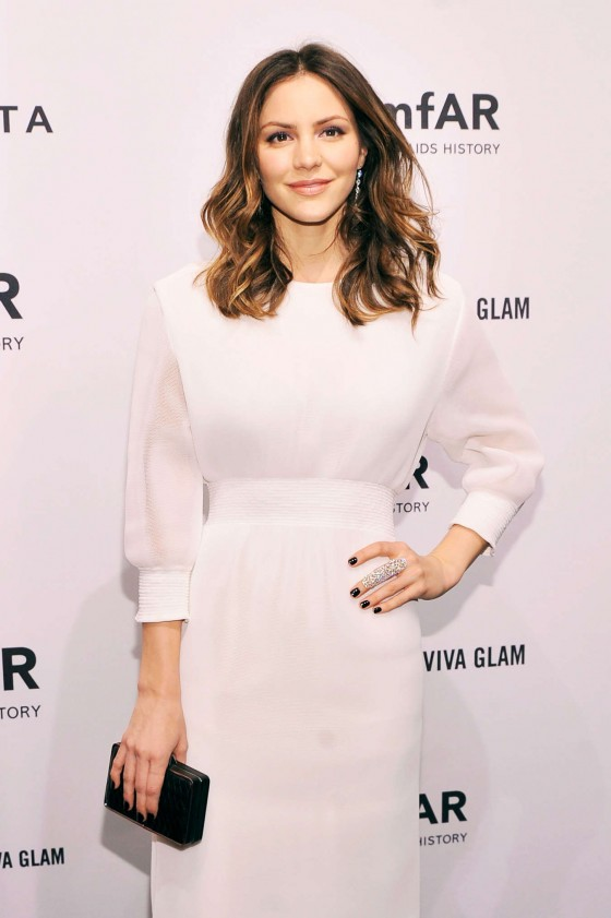 Katharine McPhee - 2013 Fashion Week -07
