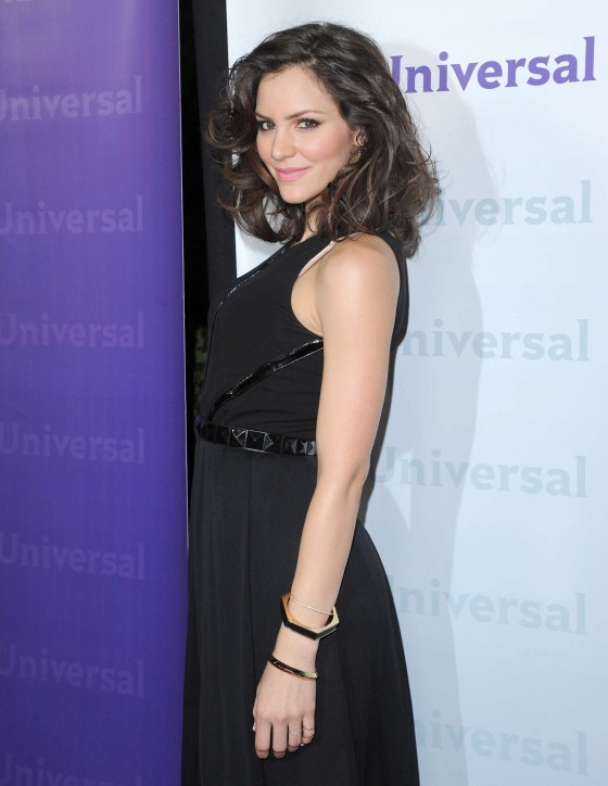 Katharine McPhee – Black Dress at NBC Universal 2012 Winter TCA party-05