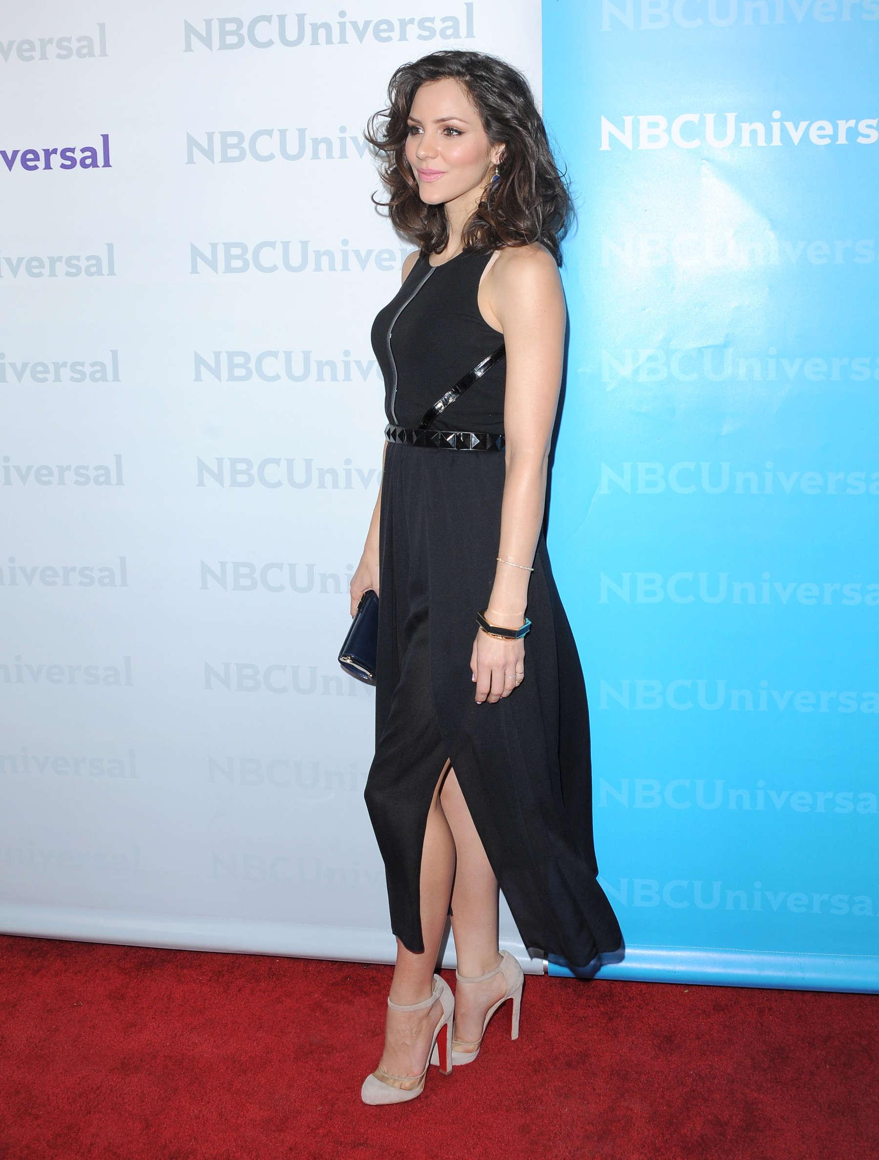 Katharine McPhee - Black Dress at NBC Universal 2012 Winter TCA ...