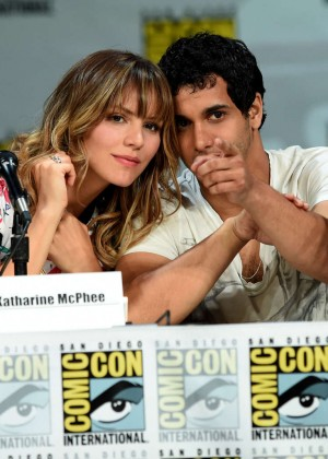 Katharine McPhee - CBS Scorpion Panel at Comic-Con in San Diego