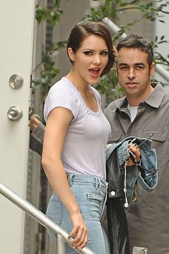 "Katharine McPhee - Filming ""Smash"" in New York"