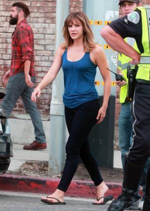 """Katharine McPhee on """"Scorpion"""" Set in LA"""