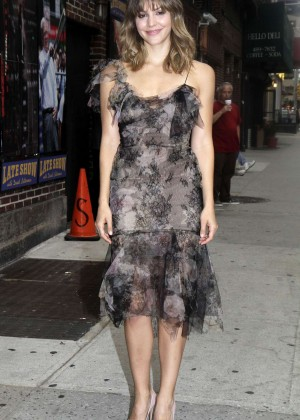 "Katharine McPhee - ""The Late Show with David Letterman"" in New York City"