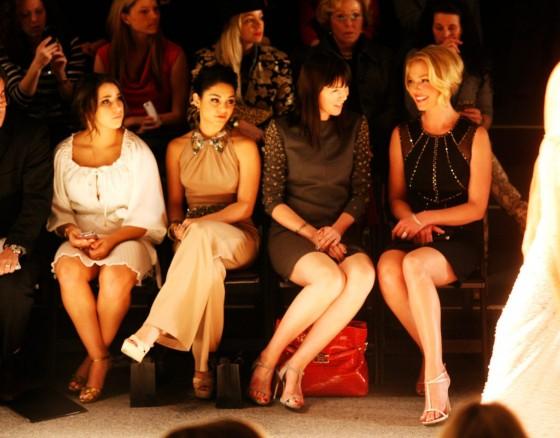 Katherine Heigl at 2013 Jenny Packham fashion show -03