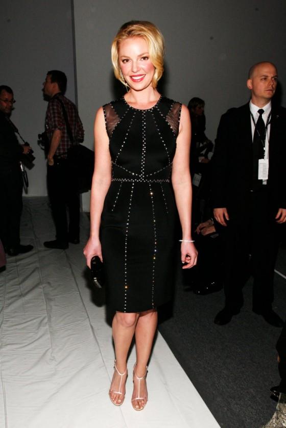 Katherine Heigl at 2013 Jenny Packham fashion show -04