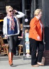 Katherine Heigl in tight pants and boots -11