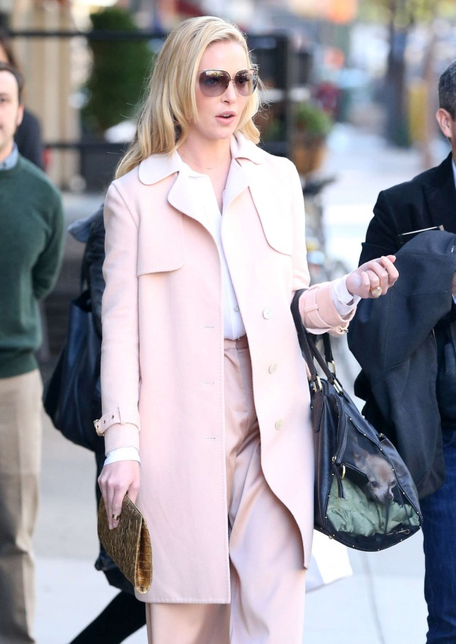 Katherine Heigl Style - Out and about in New York City