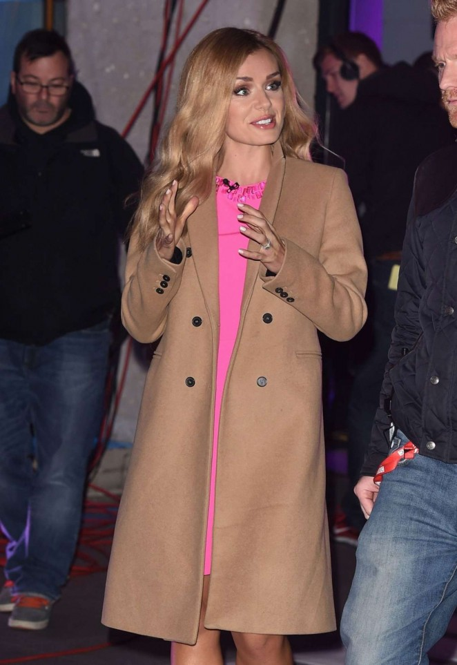 Katherine Jenkins at The One Show in London
