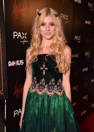 "Katherine McNamara - ""Horns"" Premiere in Hollywood"