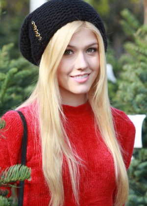 Katherine McNamara - Christmas Tree Shopping in LA