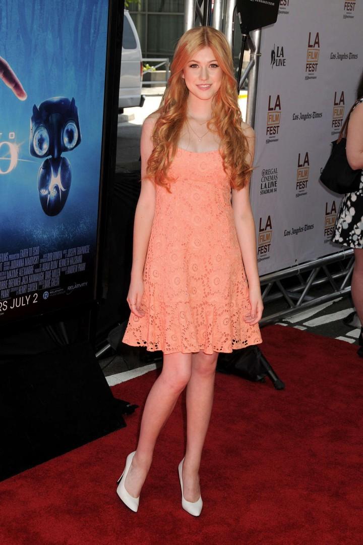 Katherine McNamara in short dress -04