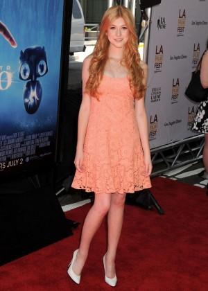 Katherine McNamara in short dress -07