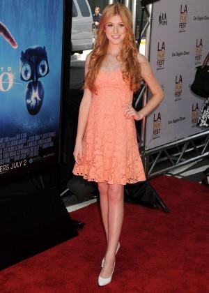 Katherine McNamara in short dress -08