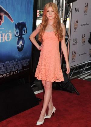 Katherine McNamara in short dress -10