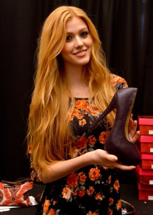 Katherine McNamara - GBK & Pilot Pen's Luxury Style Lounge in NYC