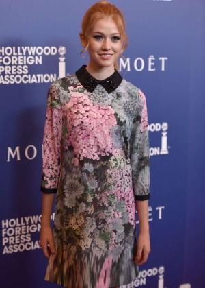Katherine McNamara - The HFPA Grants Banquet in Beverly Hills