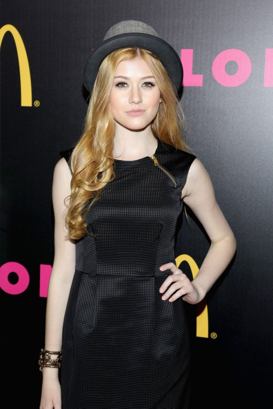 Katherine McNamara: NYLON Magazine Party -04