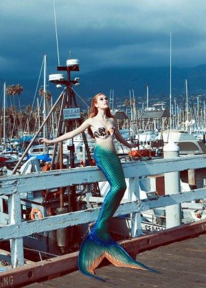 Katherine McNamara - Project Mermaids Photoshoot (November 2013)