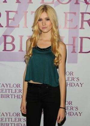 Katherine McNamara - Taylor Spreitler's 21st Birthday Party in Studio City