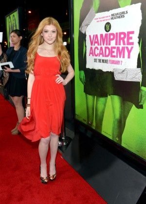 Katherine McNamara: Vampire Academy Premiere -04