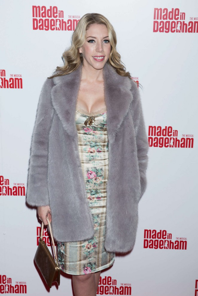 Katherine Ryan - Made in Dagenham Press Night in London