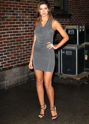 Katherine Webb at The Late Show With David Letterman-03