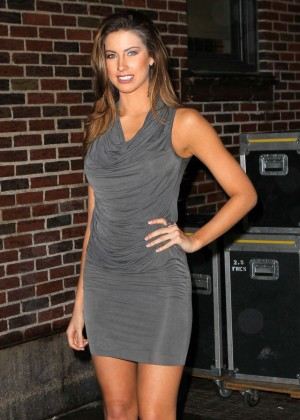 Katherine Webb at The Late Show With David Letterman-04
