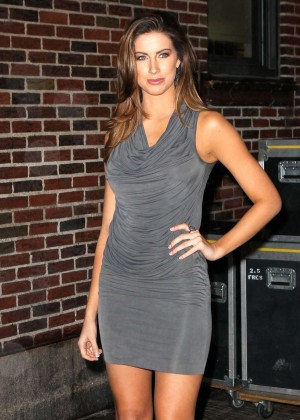 Katherine Webb at The Late Show With David Letterman-06