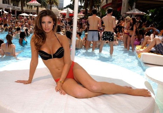 Katherine Webb at Party at Encore Beach Club -02