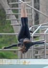 Katherine Webb - On diving board for Splash Reality Show -04